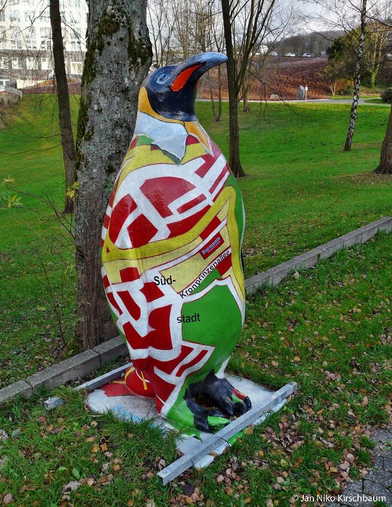 Der Pinguin der Barmenia Versicherung